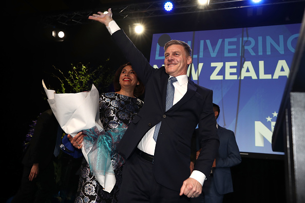 Wave「New Zealand Parties Address Their Supporters Ahead Of Election Verdict」:写真・画像(5)[壁紙.com]