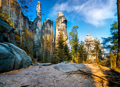 Czech Republic「National Park Adrspach-Teplice Rocktown」:スマホ壁紙(14)