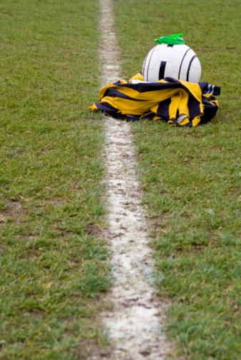 Reserve Athlete「Soccer equipment on a field」:スマホ壁紙(5)