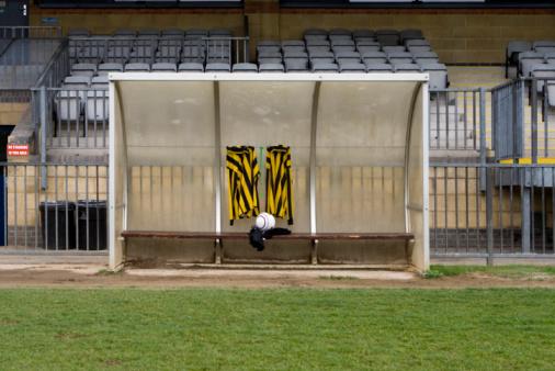 Reserve Athlete「Soccer equipment and bench」:スマホ壁紙(4)