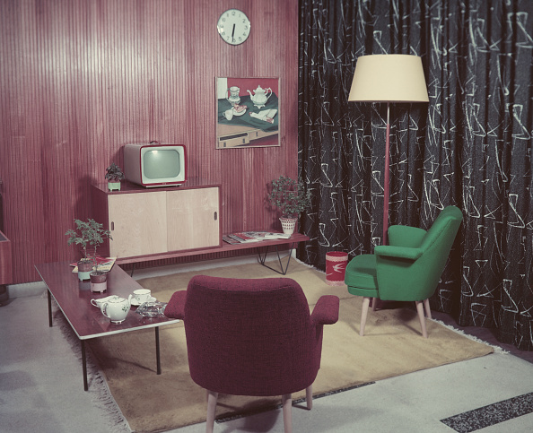 Living Room「1950s Sitting Room」:写真・画像(1)[壁紙.com]
