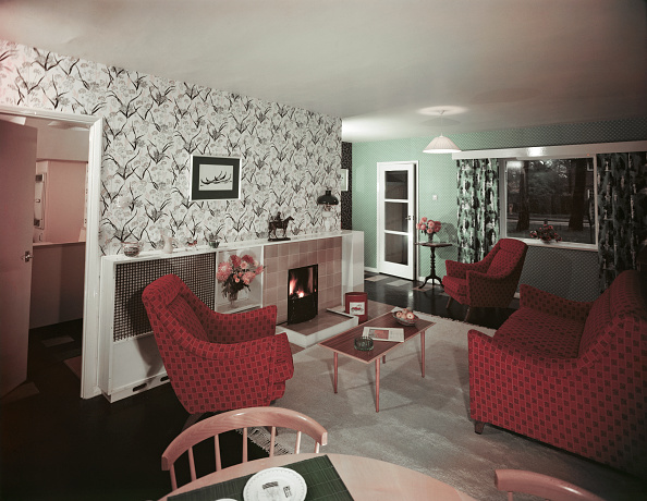 Living Room「1950s Sitting Room」:写真・画像(7)[壁紙.com]