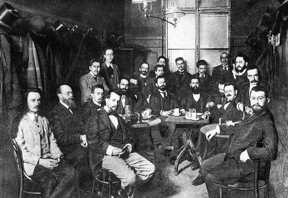 Cafe「Theodor Herzl and Viennes zionists in the Cafe Lou」:写真・画像(10)[壁紙.com]