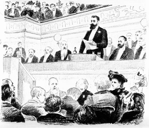 Organized Group「Theodor Herzl at the second zionist congress in Ba」:写真・画像(14)[壁紙.com]