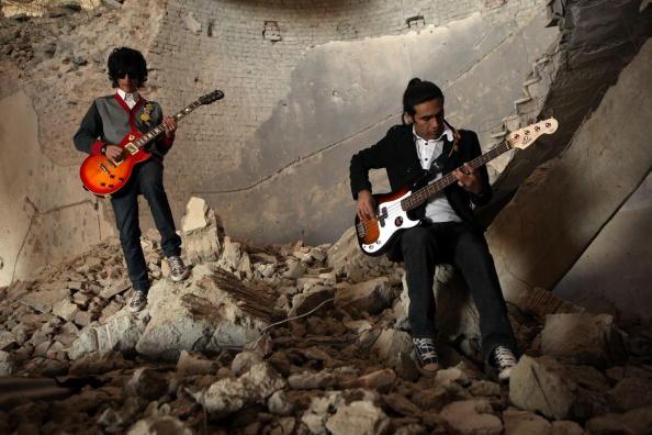 Kabul「Rock Band Emerges In Post-Taliban Kabul」:写真・画像(3)[壁紙.com]