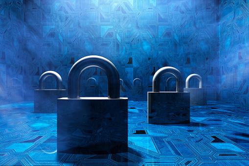 保護「セキュリティ 南京錠 バーチャル環境で、コンセプト」:スマホ壁紙(10)