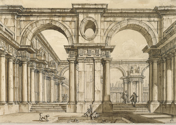 T 「Set Design For The Opera La Clemenza Di Tito (The Clemency Of Titus) By Wolfgang Amadeus Mozart 18t」:写真・画像(4)[壁紙.com]