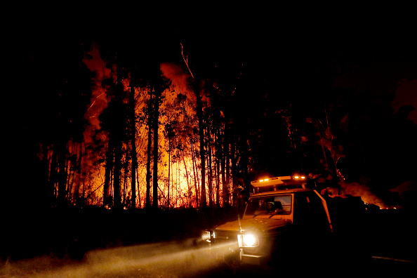 East「Evacuations Begin Following East Gippsland Bushfires」:写真・画像(15)[壁紙.com]