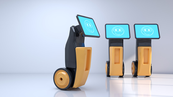 Internet of Things「Modern robots that improve people's lives. Artificial intelligence in everyday life.」:スマホ壁紙(7)