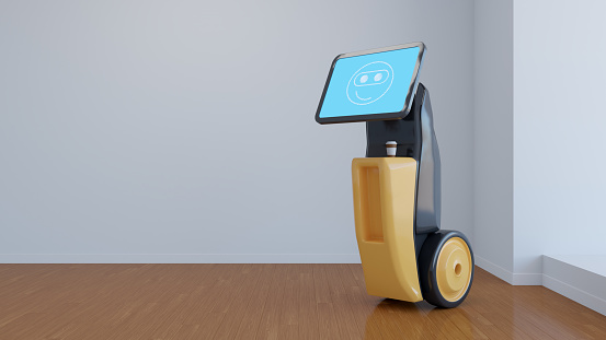 Internet of Things「Modern robots that improve people's lives. Artificial intelligence in everyday life.」:スマホ壁紙(12)