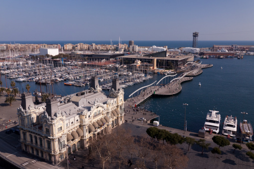 Boulevard「Port of Barcelona, Spain」:スマホ壁紙(14)