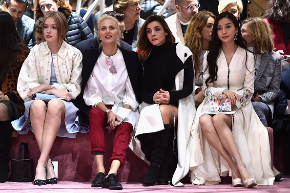 Angelababy「Christian Dior : Front Row - Paris Fashion Week - Haute Couture S/S 2015」:写真・画像(4)[壁紙.com]