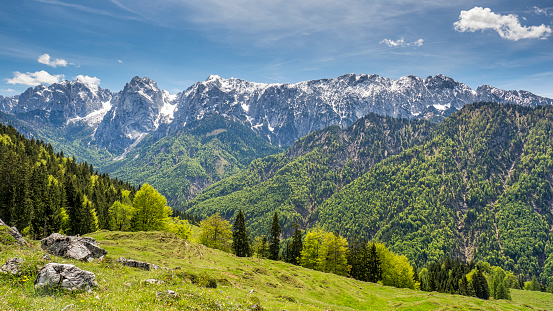 Kaiser Mountains「Austria, Tyrol, Alps, Kaisertal, Wilder Kaiser」:スマホ壁紙(13)