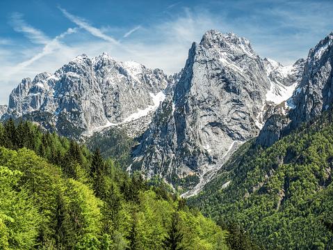 Wilder Kaiser「Austria, Tyrol, Alps, Kaisertal, Wilder Kaiser」:スマホ壁紙(9)