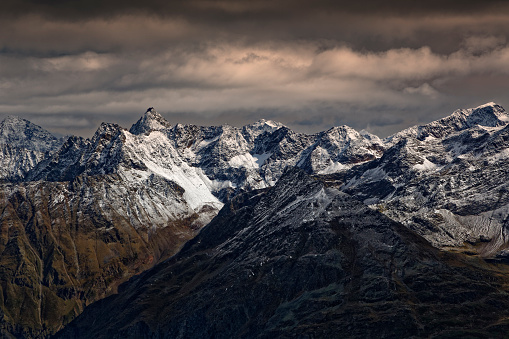 Ötztal Alps「Austria, Tyrol, Oetztal, Soelden, view from Gaislachkogel to Oetztal Alps」:スマホ壁紙(16)