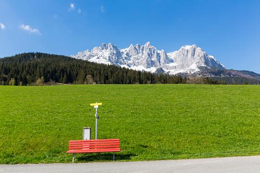 Wilder Kaiser「Austria, Tyrol, Going am Wilden Kaiser, Wilder Kaiser, Kaiser Mountains」:スマホ壁紙(19)