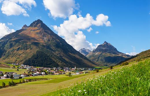 Galtur「Austria, Tyrol, Paznaun Valley, Galtuer, Silvretta」:スマホ壁紙(8)