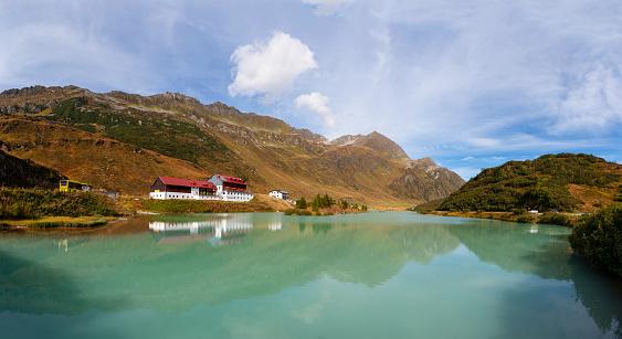 Galtur「Austria, Tyrol, Paznaun Valley, Galtuer, Zeinissee」:スマホ壁紙(12)