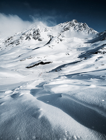 Ski Resort「Austria, Tyrol, Ischgl, winter landscape in the mountains」:スマホ壁紙(7)