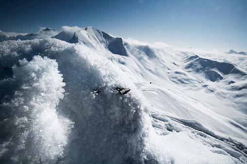 Ischgl「Austria, Tyrol, Ischgl, snow in the mountains」:スマホ壁紙(17)