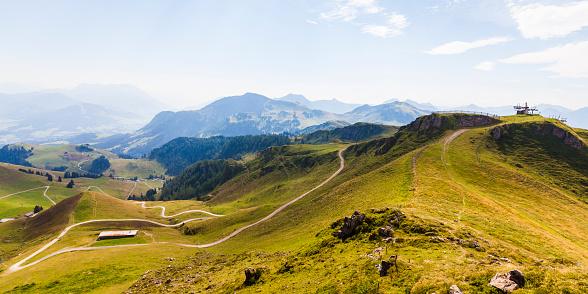 Kaiser Mountains「Austria, Tyrol, Kitzbuehel, landscape at Kitzbuehel Horn」:スマホ壁紙(6)