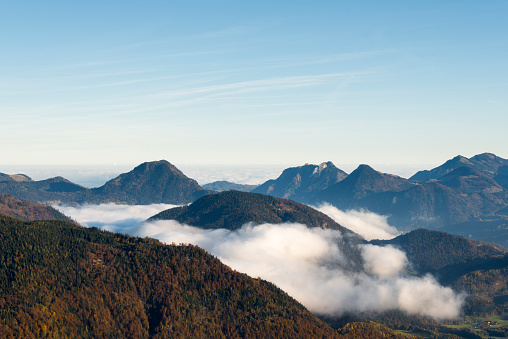 北チロル「Austria, Tyrol, Kufstein, landscape in autumn」:スマホ壁紙(19)