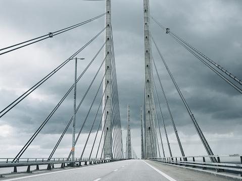 Geographical Border「Öresundsbron Oresund Bridge between Malmö Copenhagen」:スマホ壁紙(17)