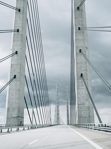 Sweden「Öresundsbron Oresund Bridge between Malmö Copenhagen」:スマホ壁紙(9)