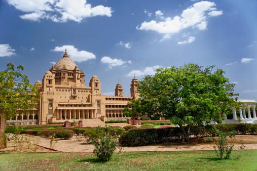 Rajasthan「Umaid Bhawan Palace」:スマホ壁紙(5)