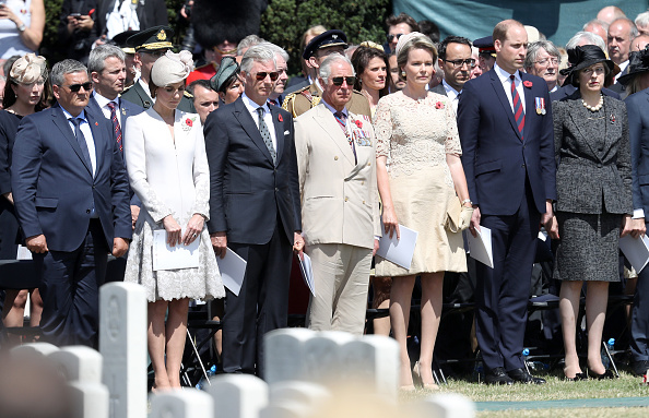Belgian Culture「Members Of The Royal Family Attend The Passchendaele Commemorations In Belgium」:写真・画像(14)[壁紙.com]