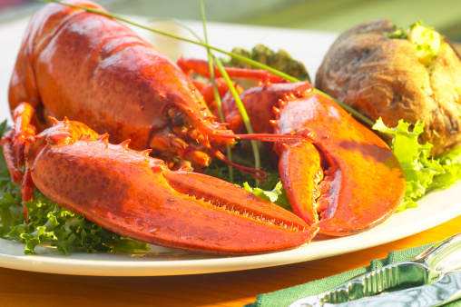 Baked Potato「Lobster with baked potato」:スマホ壁紙(16)