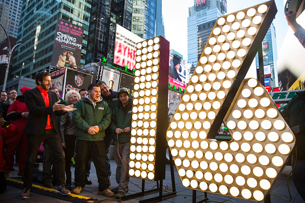 Celebration「Numerals To Be Used In New York City's New Year's Eve Celebration Arrive In Times Square」:写真・画像(2)[壁紙.com]