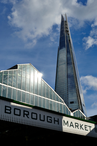 Borough Market「Borough Market and The Shard tower」:スマホ壁紙(17)