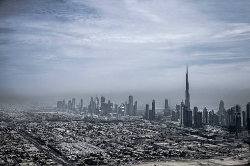 LypseUAE2015「Dubai downtown skyscrapers and office buildings」:スマホ壁紙(4)