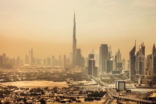 LypseUAE2015「Dubai downtown skyscrapers and office buildings」:スマホ壁紙(14)