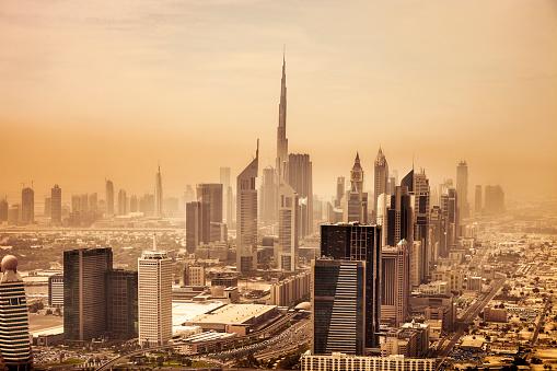 LypseUAE2015「Dubai downtown skyscrapers and office buildings」:スマホ壁紙(6)