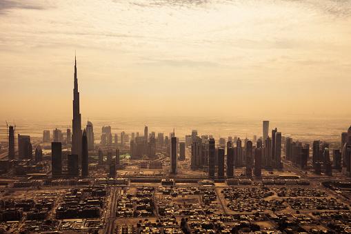 LypseUAE2015「Dubai downtown skyscrapers and office buildings」:スマホ壁紙(11)