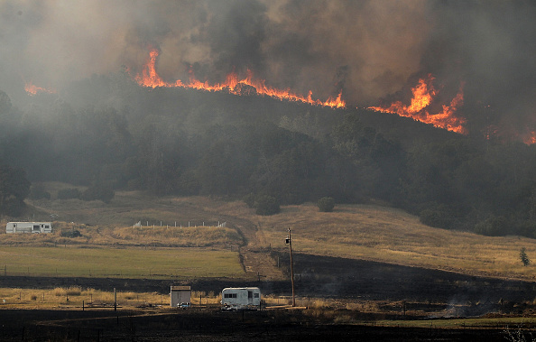 Farm「Wildfire Grows Rapidly In California's Lake County」:写真・画像(19)[壁紙.com]