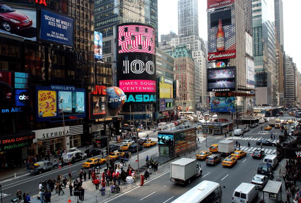 New York City「Times Square Celebrates 100th Anniversary」:写真・画像(4)[壁紙.com]