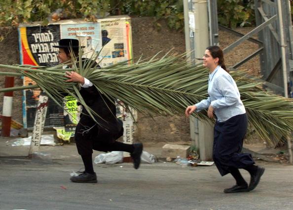 Marco Di Lauro「Ultra-Orthodox Jews Prepare For Sukkoth Festival」:写真・画像(2)[壁紙.com]