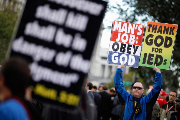 WBC「Supreme Court Hears First Amendment Case On Protests At Military Funerals」:写真・画像(0)[壁紙.com]