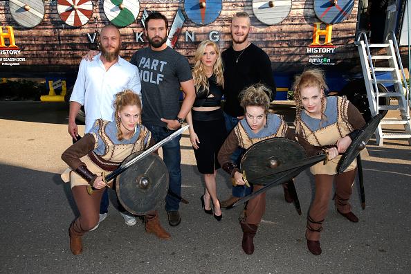 歴史「HISTORY's 'Vikings' - Comic-Con International 2015」:写真・画像(6)[壁紙.com]