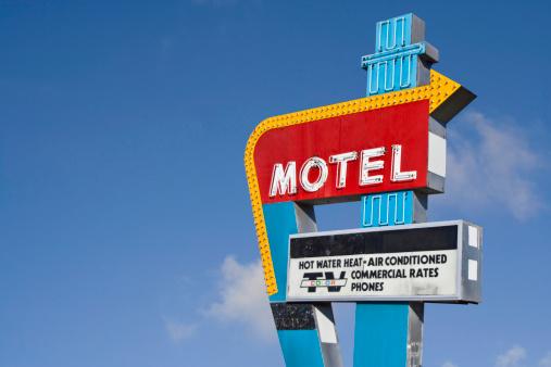 Motel「Retro Motel Sign」:スマホ壁紙(10)