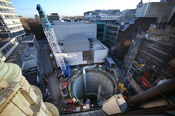 Construction Industry「Work Continues On The Crossrail Railway Project」:写真・画像(11)[壁紙.com]