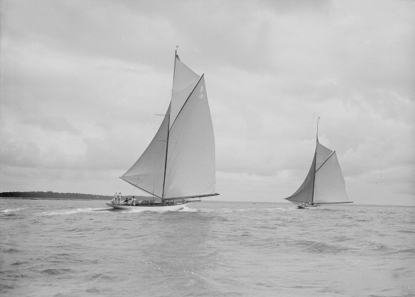 Cutting「The Racing Cutters The Lady Anne And Istria Running Downwind 19」:写真・画像(8)[壁紙.com]