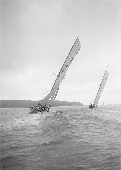Cooking Utensil「The Racing Cutters Rosamond And Creole Sailing Close-Hauled 19」:写真・画像(11)[壁紙.com]