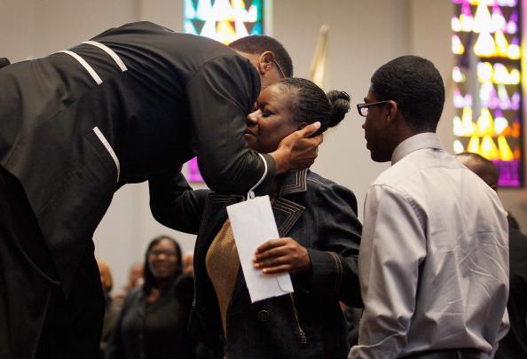 Baptist「Trayvon Martin's Family Attends Sunday Church Services In Miami」:写真・画像(13)[壁紙.com]