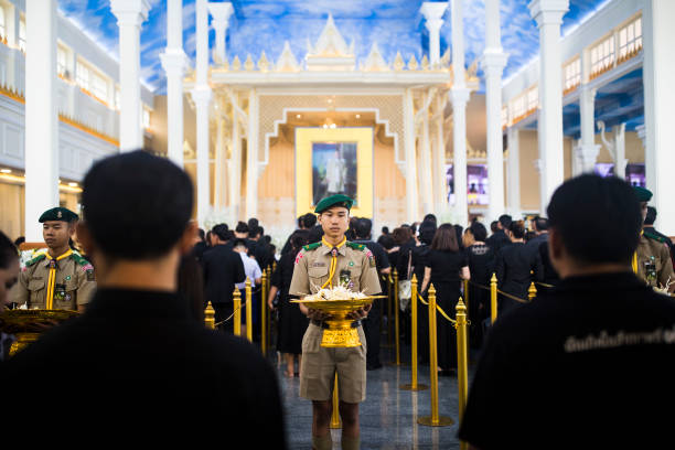 Thailand「Thailand Honours Late King Bhumibol With Five-Day State Funeral」:写真・画像(19)[壁紙.com]