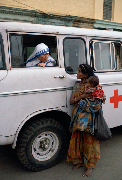 Tim Graham「Mother Teresa, Calcutta, India」:写真・画像(6)[壁紙.com]