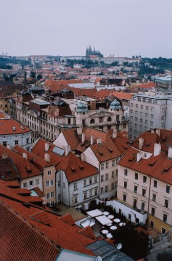 St Vitus's Cathedral「Roofs of Prague」:スマホ壁紙(1)